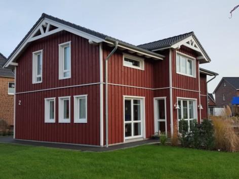 Wandaufbau holzrahmenbau mit klinker  Holzrahmenbau/Holzhäuser - HOLZBAU JENSEN